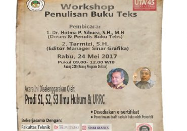 Workshop Penulisan Buku Teks