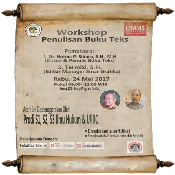 Workshop Penulisan Buku Teks