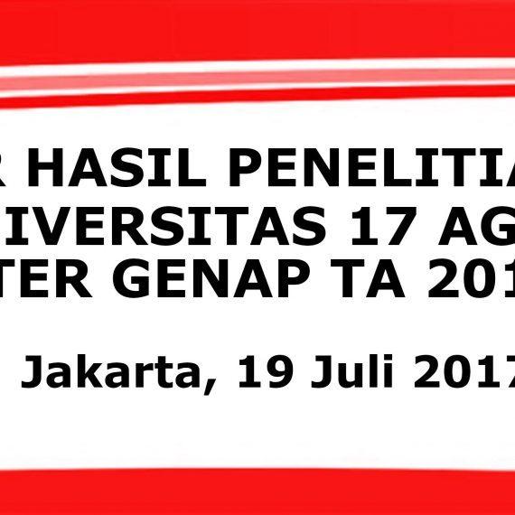 Seminar Hasil Penelitian Dosen Fakultas Hukum